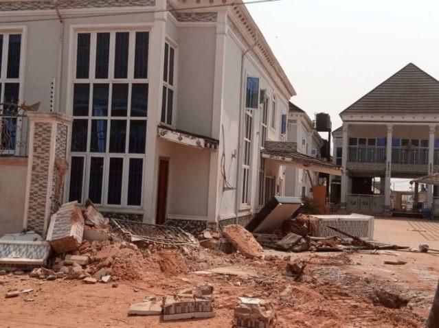 Tony Kabaka Hotel Demolished