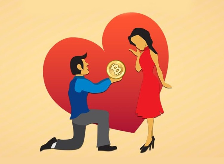 Use Bitcoin as a Surprise Valentine Gift for your Date