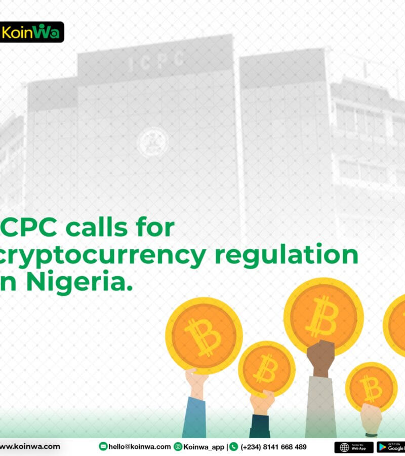 ICPC calls for cryptocurrency regulation in Nigeria