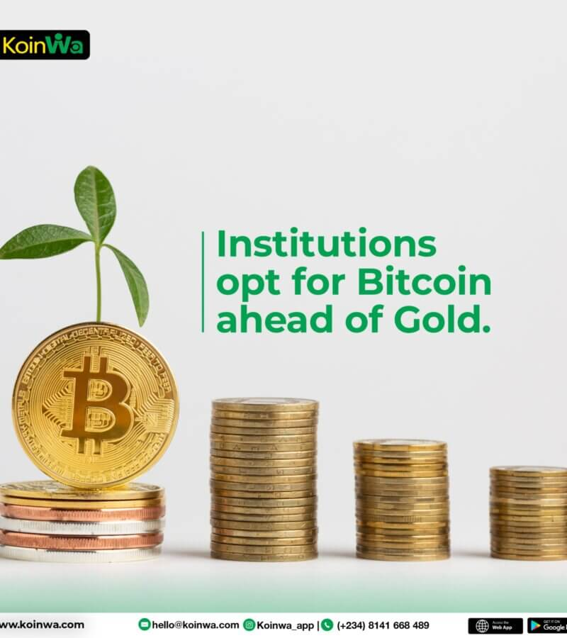 Institutions opt for Bitcoin ahead of gold – JPMorgan
